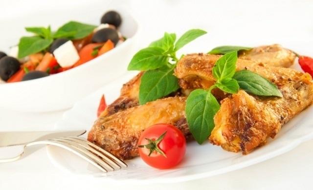 Spicy keto wings