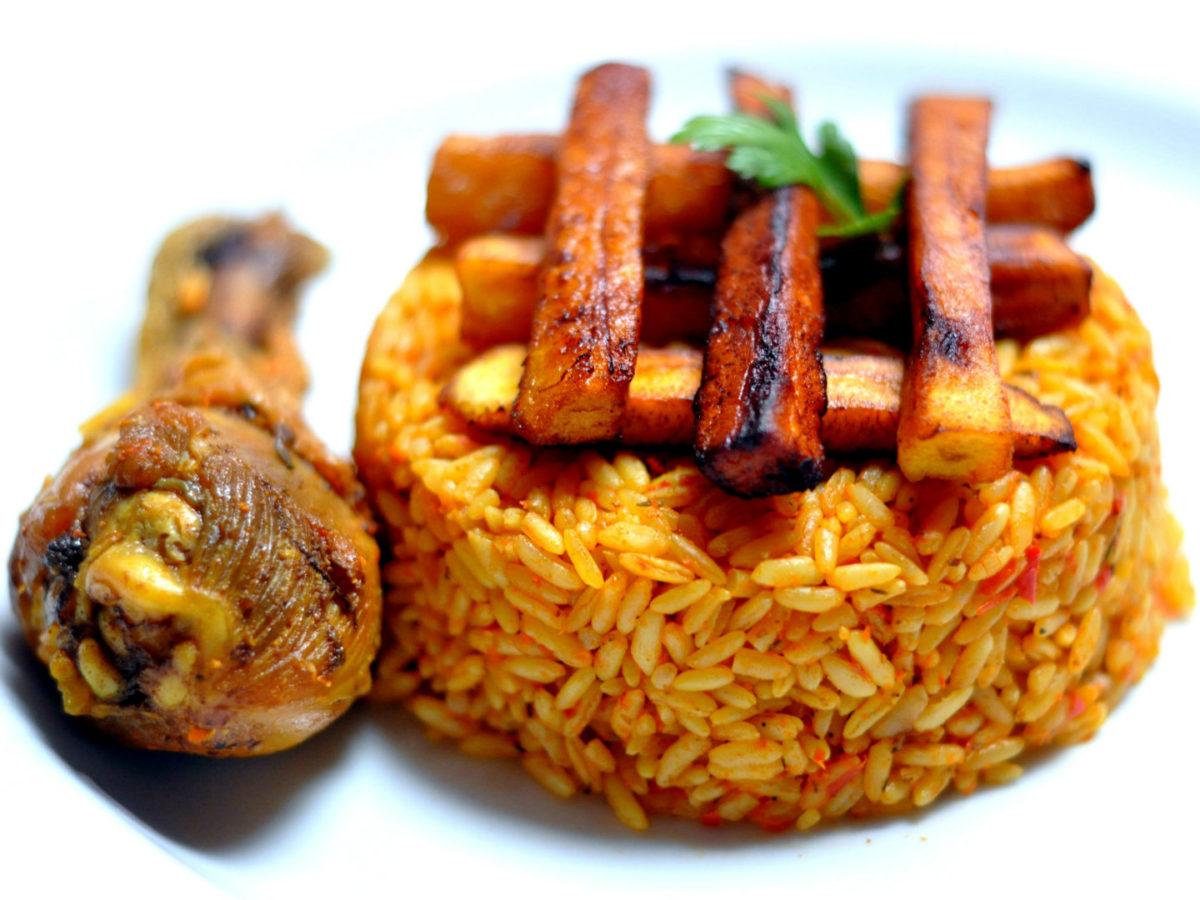 Nigerian or Ghanian Styles of Jollof